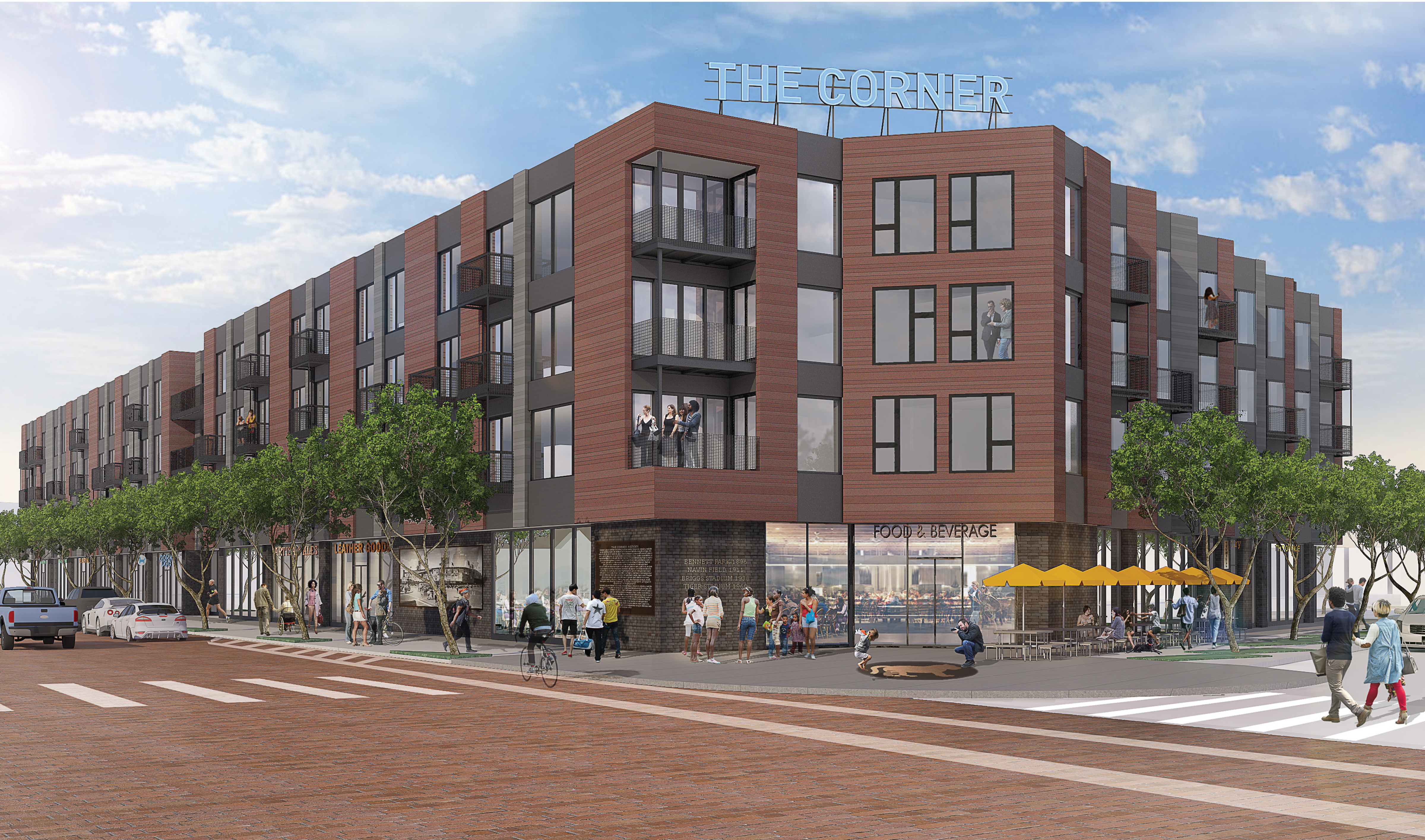 The Corner Groundbreaking